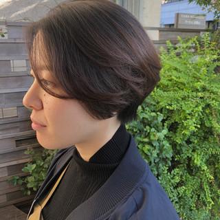 ショート ショートカット 大人ショート マッシュショート ヘアスタイルや髪型の写真・画像