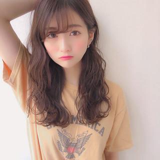 モテ髪 パーマ デジタルパーマ ゆるふわパーマ ヘアスタイルや髪型の写真・画像