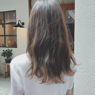 ゆるふわ 外国人風カラー 大人かわいい ロング ヘアスタイルや髪型の写真・画像