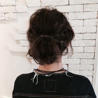アッシュ 大人女子 ヘアアレンジ ショート ヘアスタイルや髪型の写真・画像