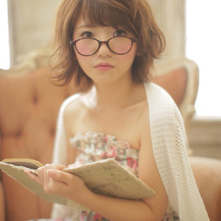 大人かわいい ナチュラル 卵型 丸顔 ヘアスタイルや髪型の写真・画像