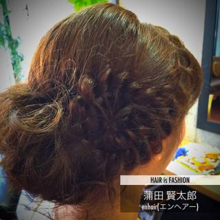 ヘアアレンジ ゆるふわ 愛され ナチュラル ヘアスタイルや髪型の写真・画像