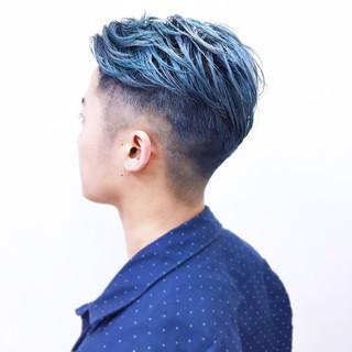 オルチャン ショート モード ハイトーン ヘアスタイルや髪型の写真・画像