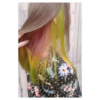 フェミニン 透明感カラー 外国人風 デート ヘアスタイルや髪型の写真・画像