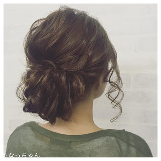 アップスタイル ロング パーティ ヘアアレンジ ヘアスタイルや髪型の写真・画像