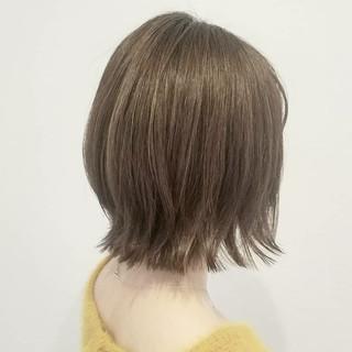 外国人風 ハイトーン ハイライト デート ヘアスタイルや髪型の写真・画像