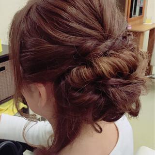 女子会 ロング エレガント 大人女子 ヘアスタイルや髪型の写真・画像