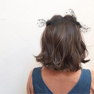 ヘアアレンジ 簡単ヘアアレンジ 夏 アッシュ ヘアスタイルや髪型の写真・画像