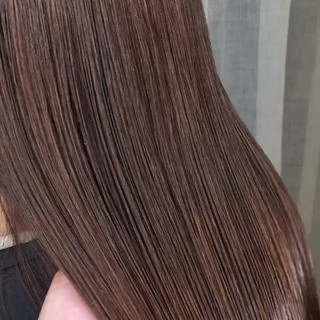 外国人風 上品 セミロング エレガント ヘアスタイルや髪型の写真・画像