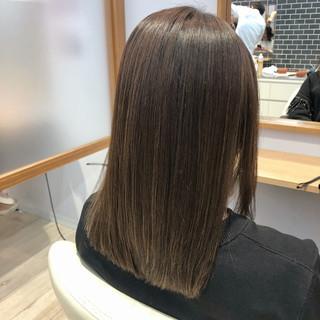 髪質改善 TOKIOトリートメント トリートメント セミロング ヘアスタイルや髪型の写真・画像