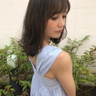 エフォートレス ヘアアレンジ フェミニン 大人かわいい ヘアスタイルや髪型の写真・画像