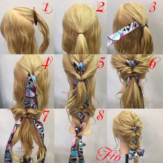 簡単ヘアアレンジ ヘアアレンジ デート 女子会 ヘアスタイルや髪型の写真・画像