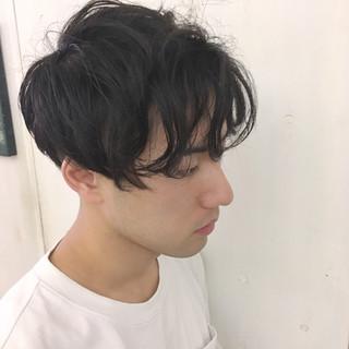 ボーイッシュ 刈り上げ パーマ ストリート ヘアスタイルや髪型の写真・画像