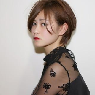 ボーイッシュ ストリート 外国人風 ショート ヘアスタイルや髪型の写真・画像
