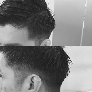 刈り上げ オフィス ボーイッシュ メンズ ヘアスタイルや髪型の写真・画像