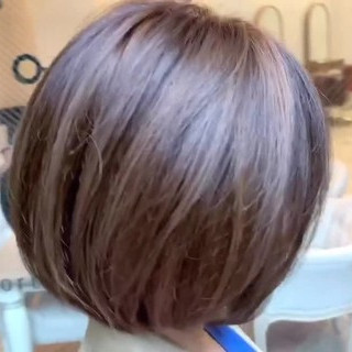 ハイライト デート ショートヘア ストリート ヘアスタイルや髪型の写真・画像