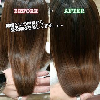 ナチュラル 名古屋市守山区 トリートメント 美髪 ヘアスタイルや髪型の写真・画像