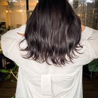 ラベージュ フェミニン ダブルカラー 外国人風カラー ヘアスタイルや髪型の写真・画像