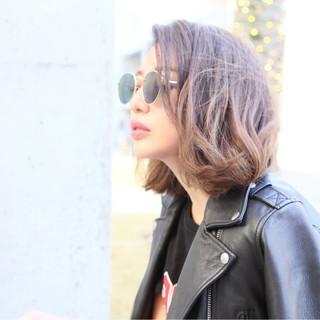ニュアンス 外国人風カラー 色気 ハイライト ヘアスタイルや髪型の写真・画像