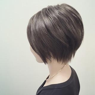黒髪 ナチュラル アッシュ 暗髪 ヘアスタイルや髪型の写真・画像