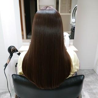 髪質改善 美髪 ブリーチ ロング ヘアスタイルや髪型の写真・画像