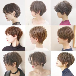 パーマ オフィス デート ナチュラル ヘアスタイルや髪型の写真・画像