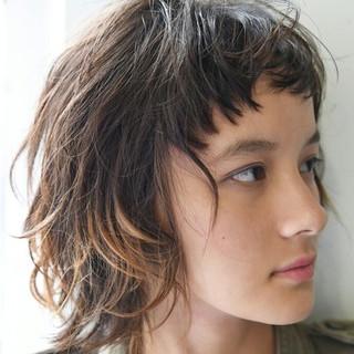ショート 前髪あり ゆるふわ ガーリー ヘアスタイルや髪型の写真・画像