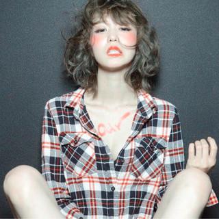 ブラウン ガーリー セクシー かわいい ヘアスタイルや髪型の写真・画像