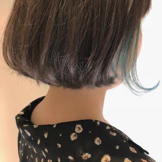 インナーカラー ストリート スポーツ デート ヘアスタイルや髪型の写真・画像