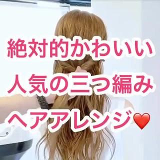 くるりんぱ エレガント ヘアアレンジ ヘアセット ヘアスタイルや髪型の写真・画像