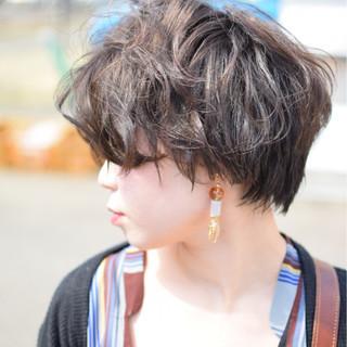 デート 抜け感 ナチュラル ウェットヘア ヘアスタイルや髪型の写真・画像