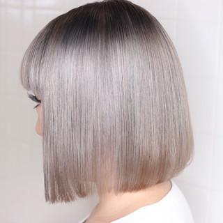 ハイトーンカラー ホワイトブリーチ 派手髪 ブリーチ ヘアスタイルや髪型の写真・画像