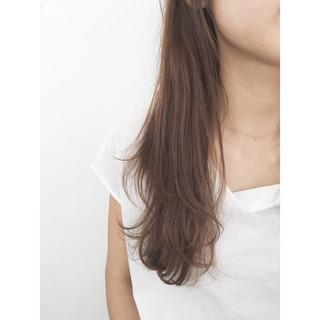 アッシュ ストリート フェミニン 外国人風 ヘアスタイルや髪型の写真・画像