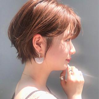 大人かわいい デート ヘアアレンジ ショート ヘアスタイルや髪型の写真・画像