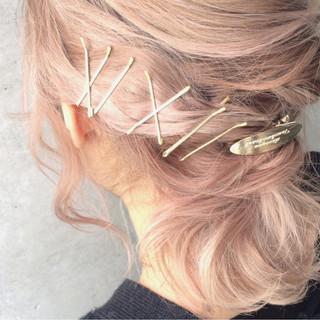 ヘアアレンジ グラデーションカラー 外国人風 ハイライト ヘアスタイルや髪型の写真・画像