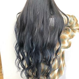 簡単ヘアアレンジ ナチュラル ロング ヘアアレンジ ヘアスタイルや髪型の写真・画像