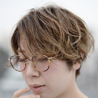ハイライト アッシュ 外国人風 グラデーションカラー ヘアスタイルや髪型の写真・画像