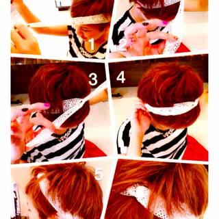 卵型 アンティーク 秋 ロング ヘアスタイルや髪型の写真・画像