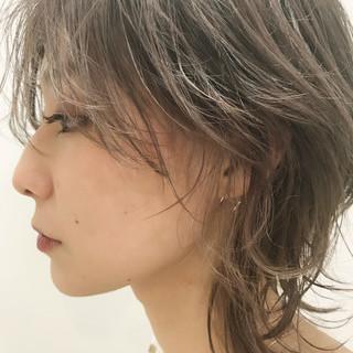 ストリート 小顔ショート ニュアンスウルフ ショート ヘアスタイルや髪型の写真・画像
