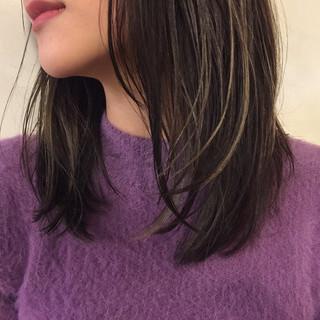 黒髪 パーマ モード こなれ感 ヘアスタイルや髪型の写真・画像