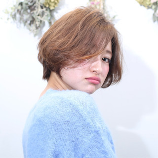 ショート ハンサムショート 小顔ショート ベリーショート ヘアスタイルや髪型の写真・画像