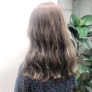 ショコラブラウン ブランジュ ロング ミルクティーベージュ ヘアスタイルや髪型の写真・画像