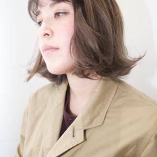 パールアクセ 透明感 ワンカール ショート ヘアスタイルや髪型の写真・画像