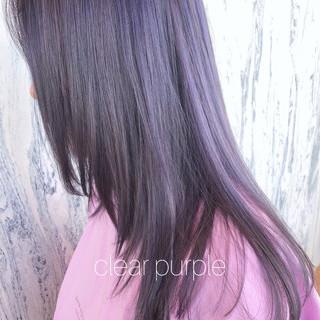 ラベンダーグレージュ アッシュグレージュ ラベンダー グレージュ ヘアスタイルや髪型の写真・画像