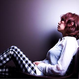 大人女子 かっこいい モード ワンレングス ヘアスタイルや髪型の写真・画像