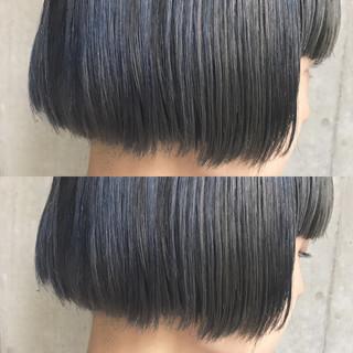 色気 グラデーションカラー ボブ 前髪あり ヘアスタイルや髪型の写真・画像