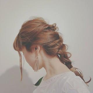 ゆるふわ フェミニン ロング パーティ ヘアスタイルや髪型の写真・画像