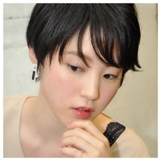 ショート モード 比留川游 小顔 ヘアスタイルや髪型の写真・画像