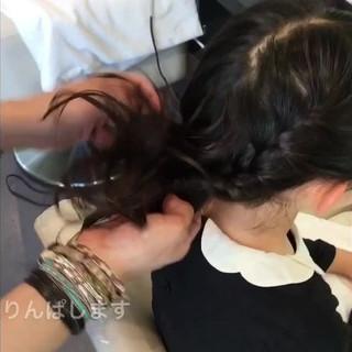 フェミニン 結婚式 女子会 ロング ヘアスタイルや髪型の写真・画像