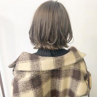 ヘアアレンジ アンニュイほつれヘア デート ボブ ヘアスタイルや髪型の写真・画像